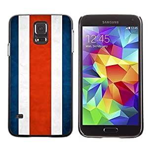 Shell-Star ( National Flag Series-Costa Rica ) Snap On Hard Protective Case For Samsung Galaxy S5 V SM-G900 hjbrhga1544
