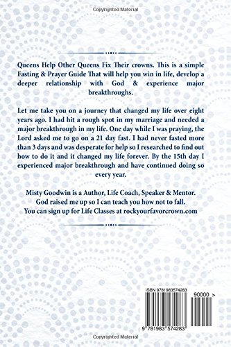 Fasting And Prayer Journal: A Queens Guide To Winning
