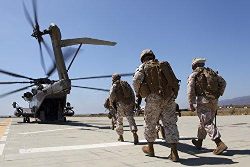 Home Comforts Canvas Print Marines Sailors Combat Logistics Battalion 11, 11th Marine Expeditionary Unit, evacuate cas Stretched Canvas 10 x 14