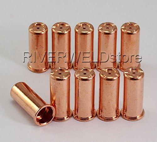 20pcs Electrodes+nozzles//tips 1403 1395 //L FOR cebora CP-70 plasma cutting torch