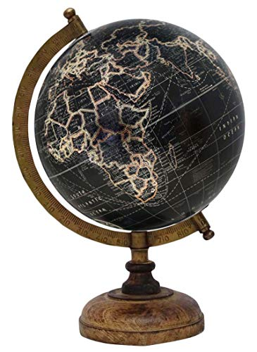 Décorative Rotating Miniature Dollhouse & Desktop Globe Table Office Décor by Uniworld (Image #4)