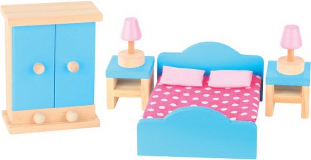 Beeboo Puppenhausm/öbel Schlafzimmer