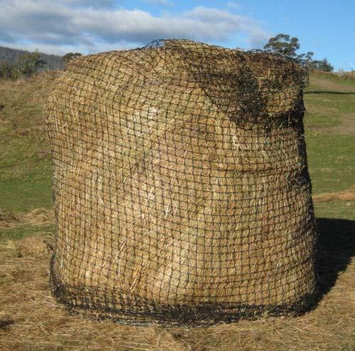 Olwen Shop Round HAY Bale Slow Feed HAY NET Nylon for Horse Cow Goat Sheep Llama Lamb Pony