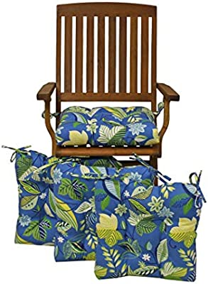 Superb Amazon Com Blazing Needles 16 Inch Indoor Outdoor Chair Caraccident5 Cool Chair Designs And Ideas Caraccident5Info