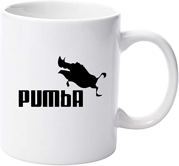 Pumba Lion King Parody - Taza de cerámica, 325 ml: Amazon.es: Hogar