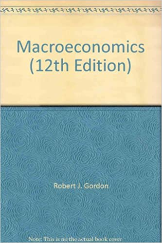 Macroeconomics (12th edition): robert j. Gordon: amazon. Com: books.