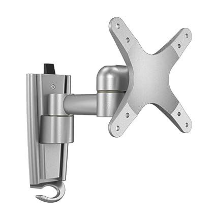 Aleación de aluminio ajustable Inclinación y soportes de TV giratoria, TV PC Ordenador portátil Monitor