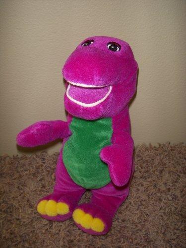 Loveable Barney the Purple Dinosaur10 Inch Plush Doll (Riff Plush)