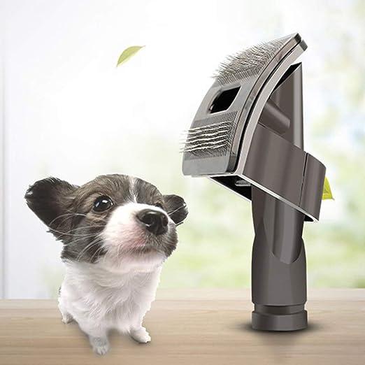 qganylO - Cepillo de Pelo para Mascotas, Perros, Gatos, Herramienta de Limpieza para aspiradora Dyson: Amazon.es: Productos para mascotas