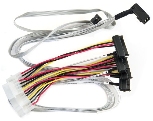 Microsemi Adaptec SAS Internal Cable, 2.6' (2280100-R) by Microsemi Corporation