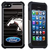 Maximum Protection Case / Cover with Cushioned Corners for iPhone 6 & iPhone 6S - Ford Mustang Grill Logo