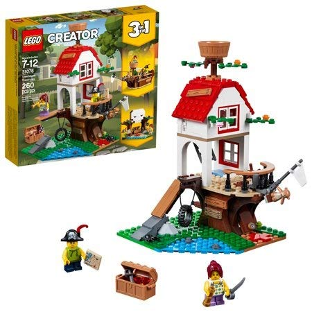 Lego Creator Treehouse Treasure 31078 Building Set (260 Piece) (1 3 House In Lego Sets)