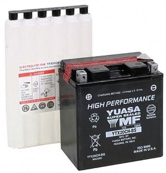 Yuasa YUAM6220C YTX20CH-BS Battery