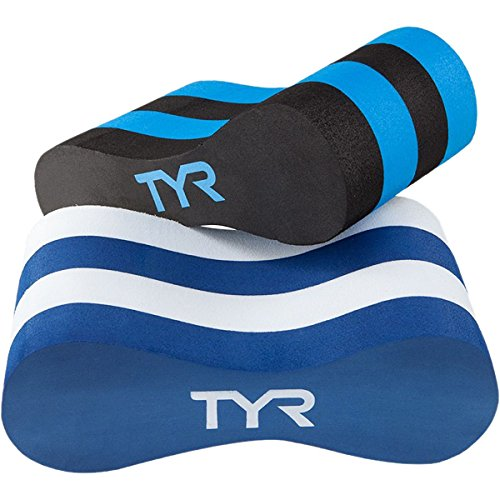 TYR Pull Float, Black/Blue