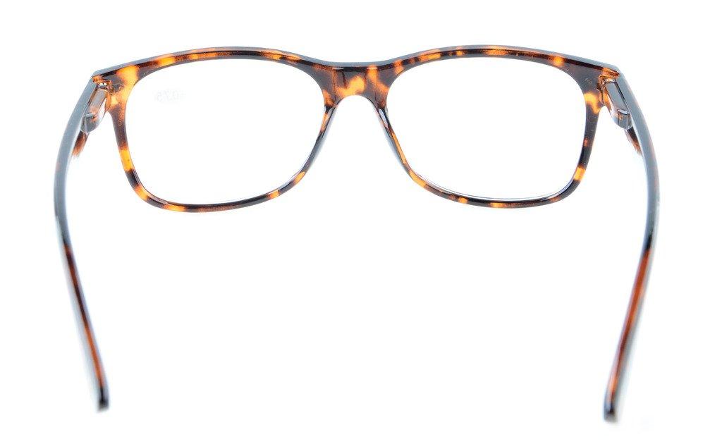 Eyekepper Occhiali da lettura uomo donna Retro cardine a molla Tortoiseshell-Clear +1.25 r9wtF36m