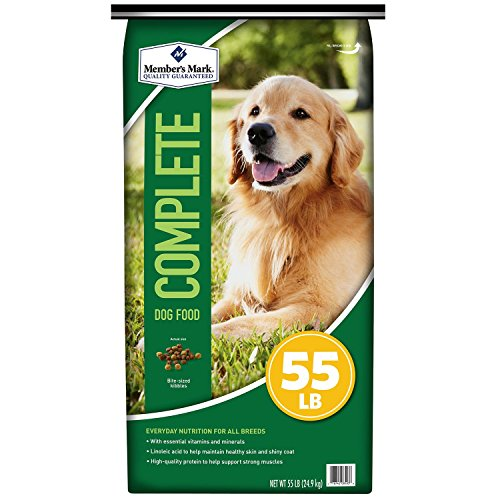 Member's Mark Complete Nutrition Dog Food (55 lbs.) (pack of 6) good