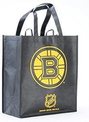 Boston Bruins Printed Non-Woven Polypropylene Reusable Grocery Tote Bag