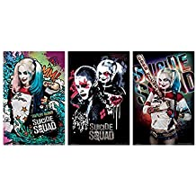 """Trends International Wall Poster Suicide Squad Collector's Bundle, 22.375"""" x 34"""""""