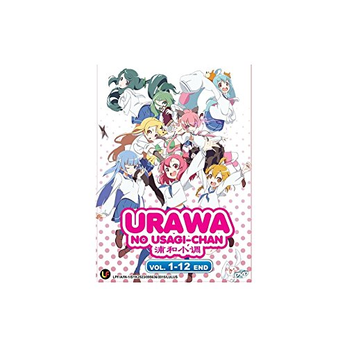 Urawa no Usagi-Chan Vol. 1 - 12 End (DVD, Region All) English Subtitles