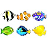 "ARGUS 6 Designs Fish Friends Classic Accents Variety Pack, 36 per Package, 5-1/2"" tall (T-10936)"