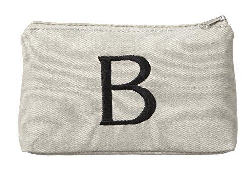 Ganz Monogrammed Cosmetic Bag Initial B