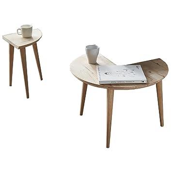 Tavolo rotondo in legno Tavolo da tè rotondo Mini Pizza Scrivania ...