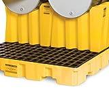 "Eagle 1605 Polyethylene Drum Cradle, Single, 26-1/2"" Length X 29"" Width X 22-1/2"" Height, 2000 Lbs Load Capacity"