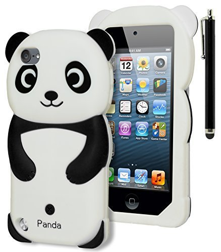 iPod Touch 5 Case, Bastex 3D Black and - 3d Case For Ipod 5