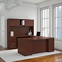 Bush Business Furniture Office Suite 300S041CS, Harvest Cherry