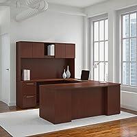 Bush Business Furniture Office Suite 300S041CS, Harvest Cherry