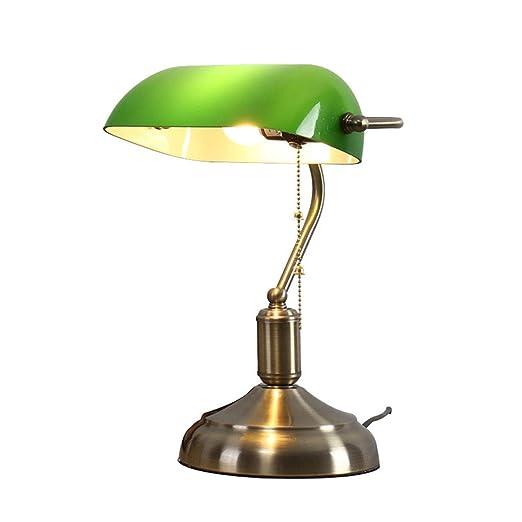 Lámpara de Escritorio Estudio de Trabajo Lectura Green Bank 26 ...