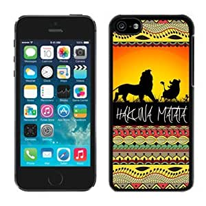 REDBUCK? iPhone 5c Case Cover of Hakuna Matata on Sunset Lion King