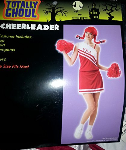 Totally Ghoul Cheerleader Halloween Costume NWT Teen One Size Fits Most