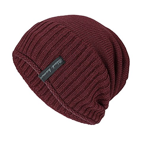 (GOVOW Outdoor Hats for Women Unisex Knit Cap Hedging Head Hat Beanie Cap Warm Fashion Hat)