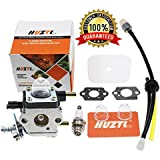 C1U-K54A Carburetor Repower Kit Air Fuel Filter Gasket for 2 Cycle Mantis 7222 7222E 7222M 7225 7230 7234 7240 7920 7924 Tiller Cultivator Echo by HUZTL