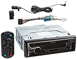 Kenwood KDCBT565U CD Single DIN in-Dash Bluetooth Car Stereo Receiver