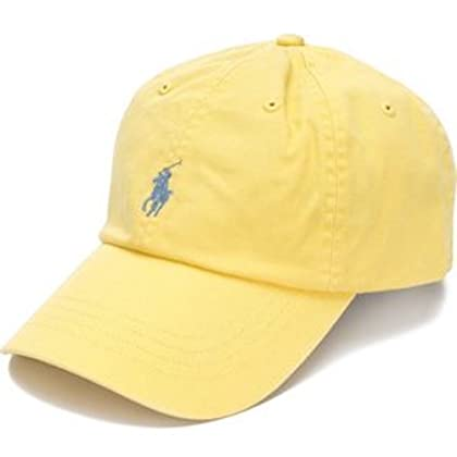 bf42452bd02 RALPH LAUREN Polo by Mens Pony Logo Adjustable Hat Cap (One Size