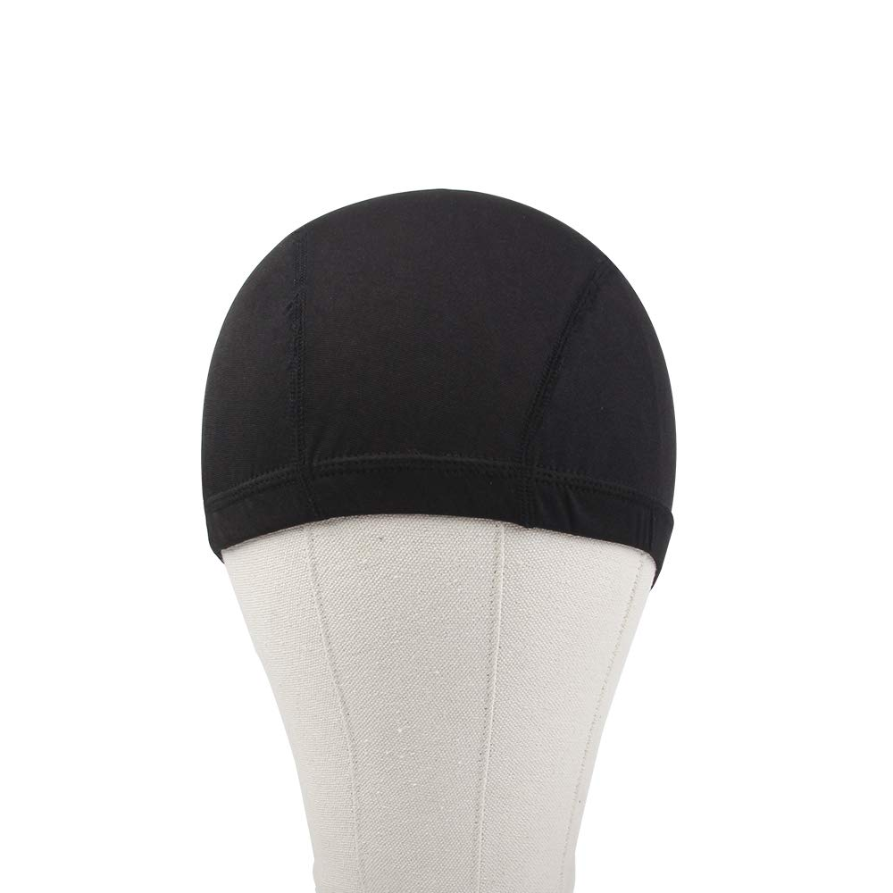Dome Caps For Wigs 12 Pcs Stretchable Wigs Cap Spandex Dome Wig Caps For Men Women by YOUNIQUE (Image #9)