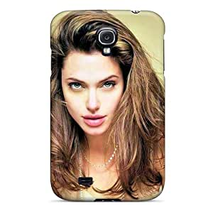 High Quality Angelina Jolie Celebrity Case For Galaxy S4 / Perfect Case