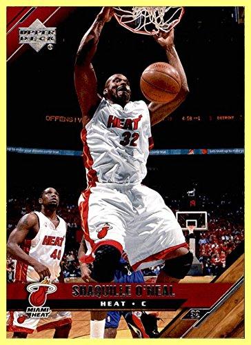 (2005-06 Upper Deck #93 Shaquille O'Neal MIAMI HEAT LSU TIGERS )