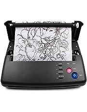 TATELF Tatuering Transfer Machine Professional Tattoo Machine Set A4 A4 Thermal Stencil Copiers Printer Kit för DIY Tattoos EU