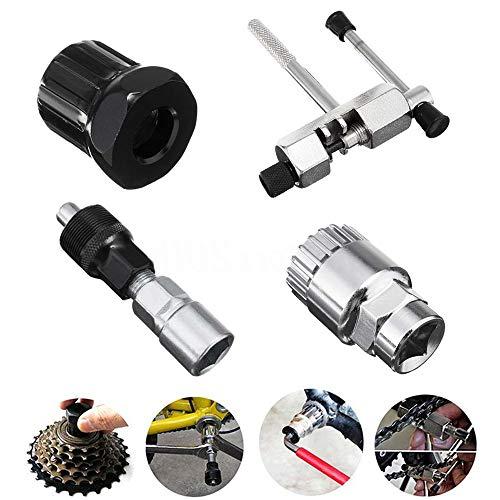 DEDC 1 set mountainbike fiets MTB reparatietool kit, pedaalverwijderaar fiets kettingbreker cranktrekker…