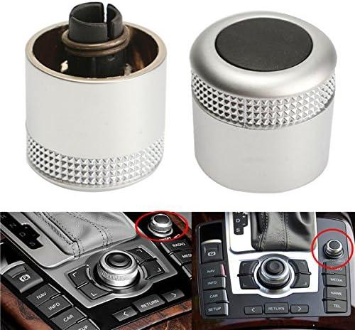 Alamor Multimedia MMI Ajuste De Volumen Bot/ón Perilla Interruptor para Audi A6 Q7 S6 S8 C6 Avant