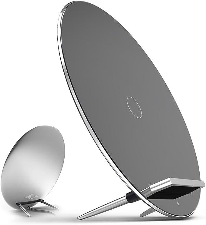 Aukey ® Luna Wireless Charger Cargador inalámbrico Placa de Carga Habilitado-Qi para Nexus 6, SONY Xperia Z3V, Moto 360 Smart Watch, Google Nexus 6 / ...
