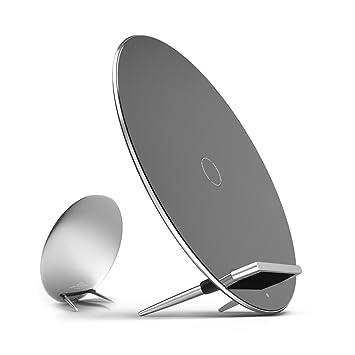 Aukey ® Luna Wireless Charger Cargador inalámbrico Placa de Carga Habilitado-Qi para Nexus 6