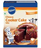 Pillsbury Eggless Cooker Cake Mix, Chocolate, 159g (Pack of 2)