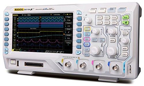 Rigol DS1104Z Plus 100 MHz Digital Oscilloscope with 4 Channels (Channel Single Analyzer)