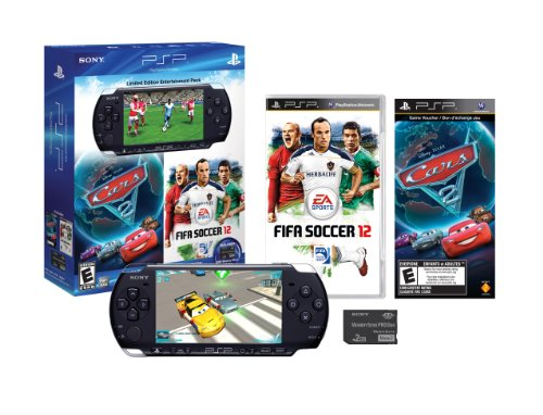 Limited Edition PSP Entertainment Pack: FIFA 2012 & Cars 2 by Sony