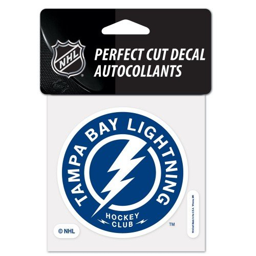 WinCraft NHL Tampa Bay Lightning 56643013 Perfect Cut Color Decal, 4