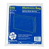 queen size mattress storage bag - Pratt PRA3266001 Mattress Bag, Queen/King, 100